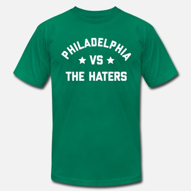 Vs Everybody Philadelphia vs. the Haters - Men's Fine Jersey T-Shirt