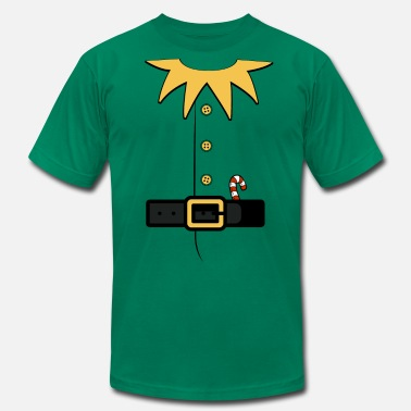 Elf Santa's elv costume - Men's  Jersey T-Shirt