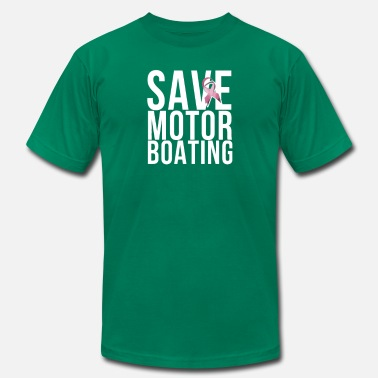 Plus Size Religion Mens Breast Cancer Save Motorboating - Men's  Jersey T-Shirt