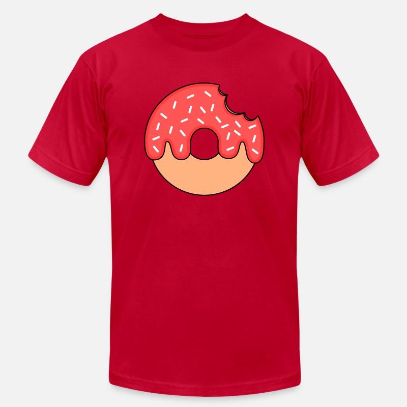 51ecdec0 Hmmmhmhm looks like you love donuts Donut Men's Jersey T-Shirt | Spreadshirt