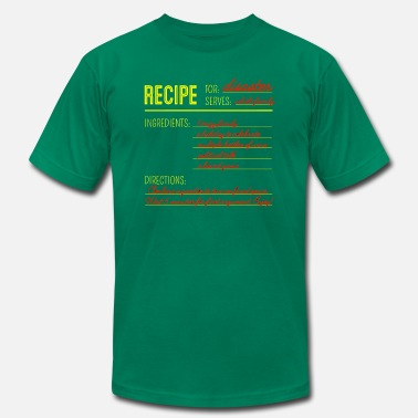 Recipe Recipe for Disaster - Men's Jersey T-Shirt