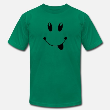 Funny Smile funny smile - Men's  Jersey T-Shirt
