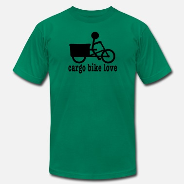 Cargo Bike Madsen Cargo Bike Love - Men's Jersey T-Shirt