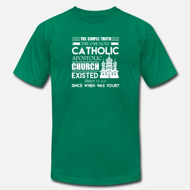 Mens Catholic Catholic Tee Shirt - Men's  Jersey T-Shirt