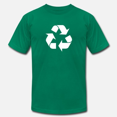 Recycled Art Recycle - Men's Jersey T-Shirt