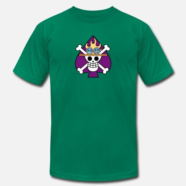 Portgas D Ace Portgas D Aces Jolly Roger - Men's  Jersey T-Shirt