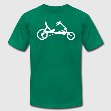 recumbent bicycle - Men's Fine Jersey T-Shirt