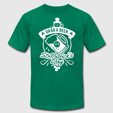 St Patricks Day Beer - Men's Fine Jersey T-Shirt