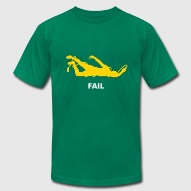 jumprope fail - Men's Fine Jersey T-Shirt