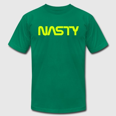 Space Commander Nasty 1-Color - Men's Fine Jersey T-Shirt