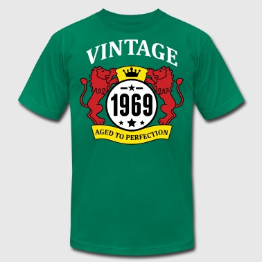 Vintage 1969 Aged to Perfection - Men's Fine Jersey T-Shirt