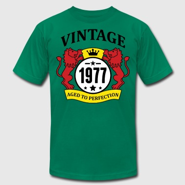 Vintage 1977 Aged to Perfection - Men's Fine Jersey T-Shirt