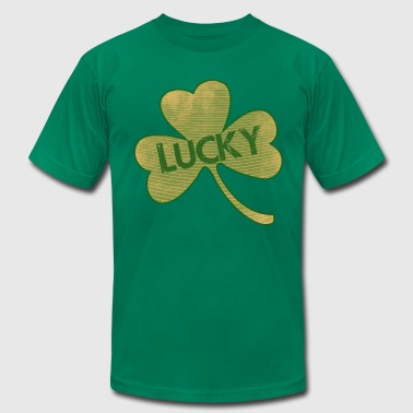 Lucky St Patricks Day - Men's Fine Jersey T-Shirt