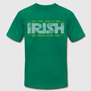 St Patrick's Day May the Luck of the Irish  - Men's Fine Jersey T-Shirt