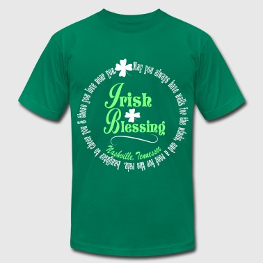 Nashville Irish Blessing - Men's Fine Jersey T-Shirt