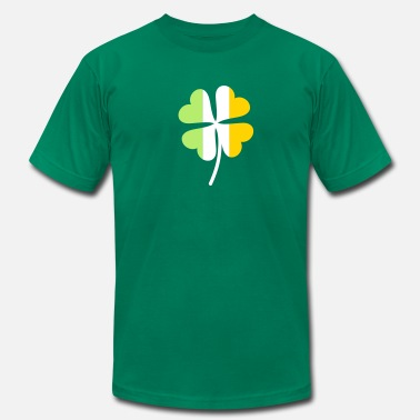 Irish Flag Shamrock Shamrock Irish Flag - Men's  Jersey T-Shirt