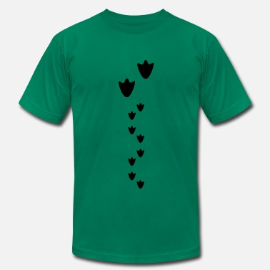 Baby-duck duck prints, duck and baby chicks - Men's  Jersey T-Shirt