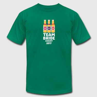 Team Bride August 2017 Sb734 - Men's Fine Jersey T-Shirt