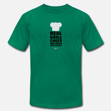 Herb Amsterdam Real Grill Chefs are from Amsterdam Sl267 - Men's  Jersey T-Shirt