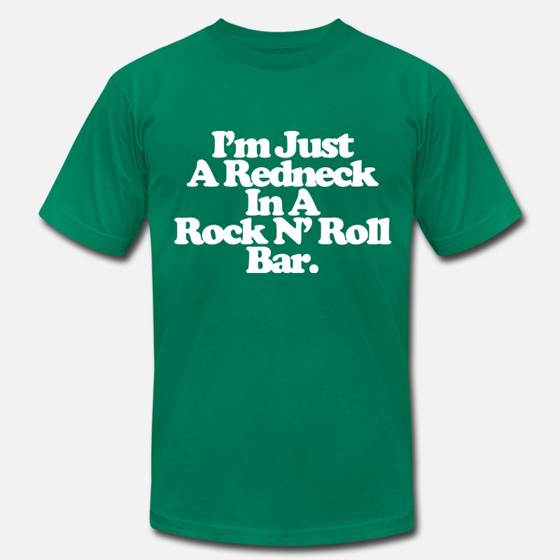 Reed T-Shirts - Jerry Reed Tee - Men's Jersey T-Shirt kelly green