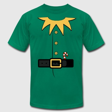 Elf Santa's elv costume - Men's Fine Jersey T-Shirt