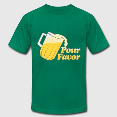 Pour Favor Beer Irish - Men's Fine Jersey T-Shirt