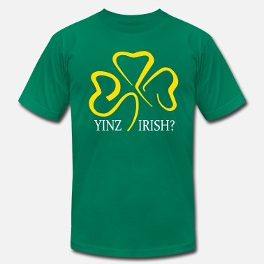 yinz irish - Men's  Jersey T-Shirt