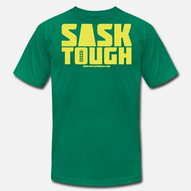 Be Tough Sask Tough - Men's Fine Jersey T-Shirt