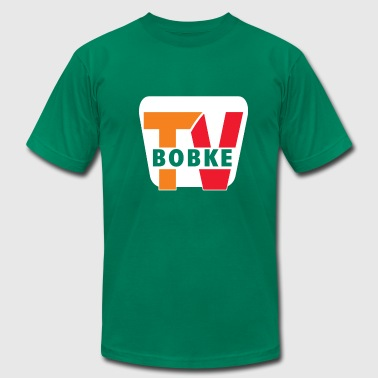 7 Eleven Bobke TV Retro Team 7-Eleven by Bob Roll - Men's Fine Jersey T-Shirt