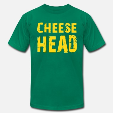 Cheesehead Cheesehead - Men's Jersey T-Shirt
