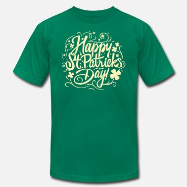 Happy St Patrick Day Happy St Patricks Day - Men's  Jersey T-Shirt