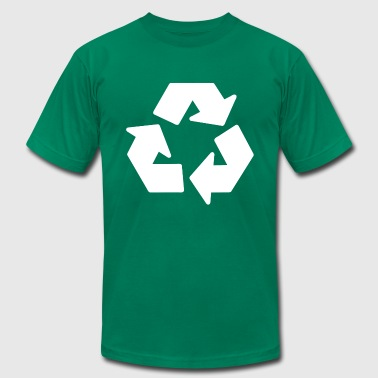 recycle - Men's Fine Jersey T-Shirt
