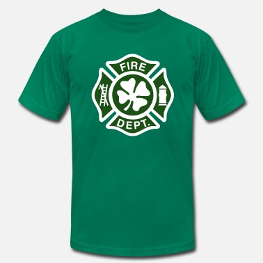 Irish Fire Department IRISH Fire Department - Men's Jersey T-Shirt