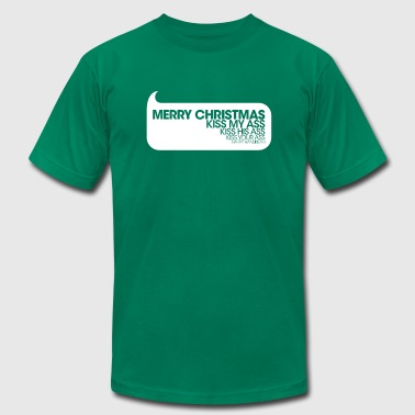 Merry Christmas - Men's Fine Jersey T-Shirt