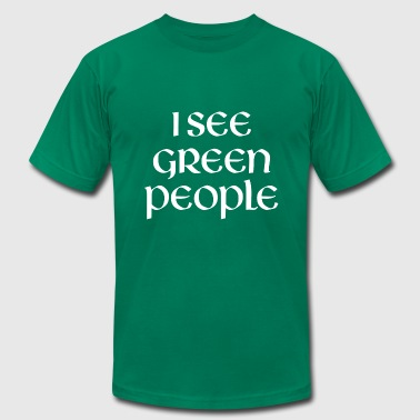I See Green People - Men's Fine Jersey T-Shirt