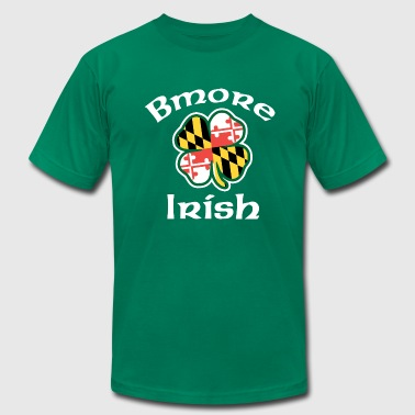 St Patricks Day Baltimore Bmore Irish - Men's Fine Jersey T-Shirt