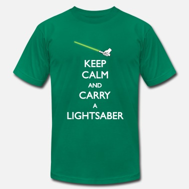 Carry On Films Lightsaber Green - Men's  Jersey T-Shirt