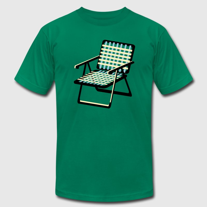 Lawn Chair - Men's Fine Jersey T-Shirt