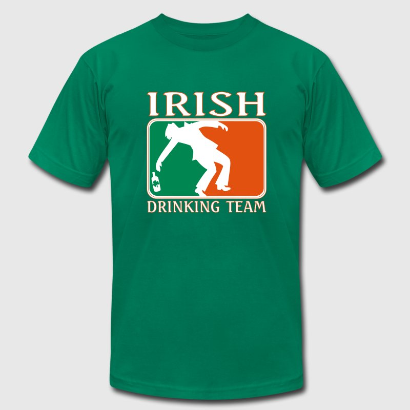 Irish Drinking Team - Men's Fine Jersey T-Shirt