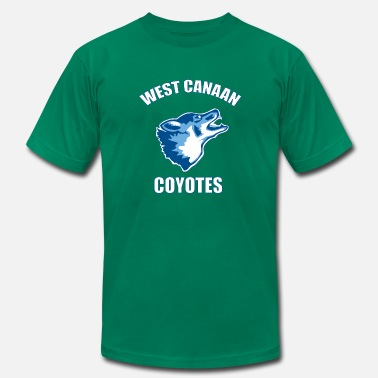 Coyote West Canaan Coyotes - Men's Fine Jersey T-Shirt