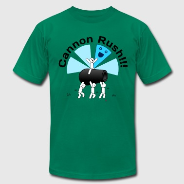 Cannon Rush!!! - Men's Fine Jersey T-Shirt