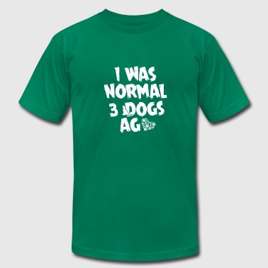 i was normal 3 dogs age - Men's Fine Jersey T-Shirt