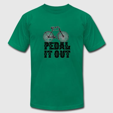 Pedal It Out - Men's Fine Jersey T-Shirt