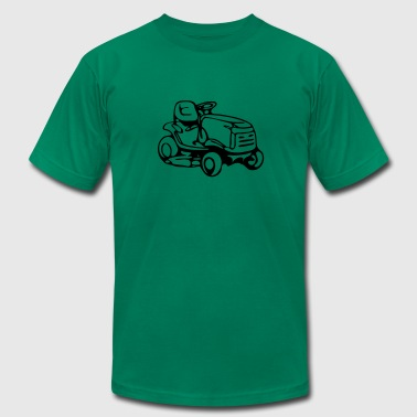 riding mower - Men's Fine Jersey T-Shirt
