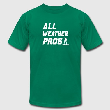 All Weather Pros Premium Tee - Men's Fine Jersey T-Shirt