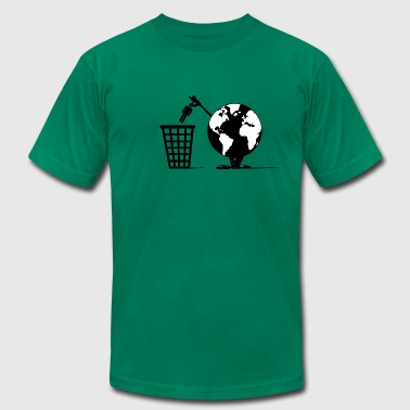 Waste Disposal - Men's Fine Jersey T-Shirt