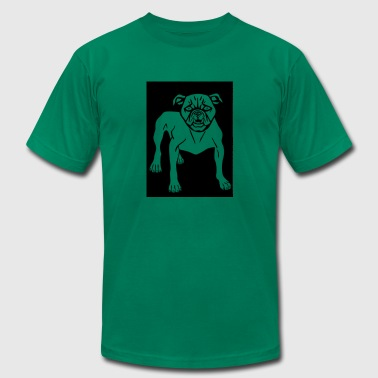 Mean Dog Angry Animal Canine Dog Mammal Mean 2026582 - Men's Fine Jersey T-Shirt