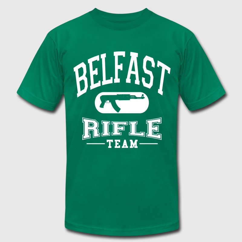 Belfast Rifle Team - Men's Fine Jersey T-Shirt