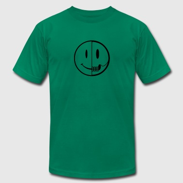 Dissection New Design Smiley Dissection Best Seller - Men's Fine Jersey T-Shirt