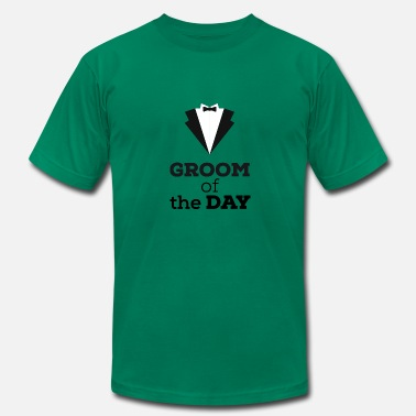 Grooms Day Groom of the Day - Men's Fine Jersey T-Shirt